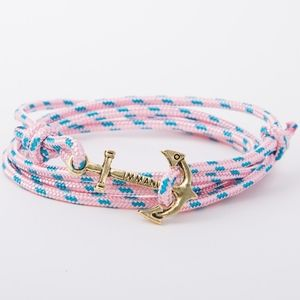 Jewelry - Lofansee Nautical Anchor Layered Wrap Bracelet